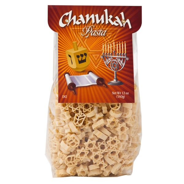 Pasta Partners Chanukah Novelty Pasta
