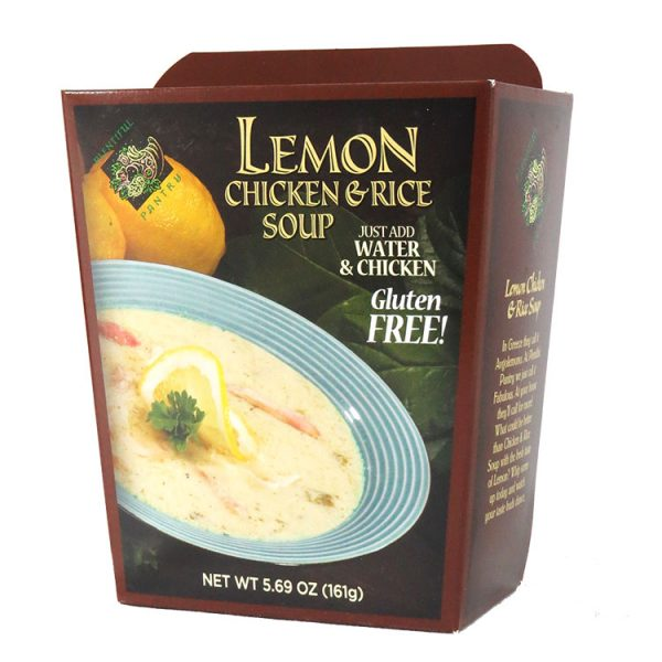 chicken soup recipe lemon