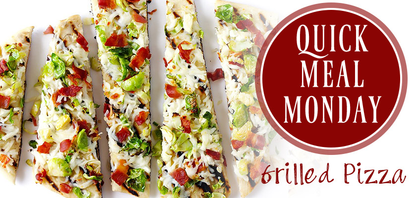 Quick Meal Monday Grilled Pizza, Plentiful Pantry, Pasta Partners, Chidester Farms, Pizza Kit, Grilled Pizza